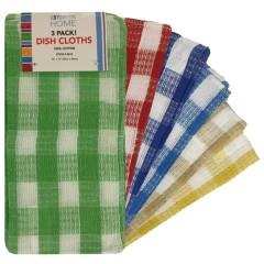 3 Pack Dish Cloths