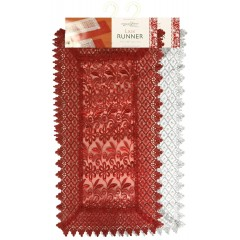 Lace Holiday Table Runner