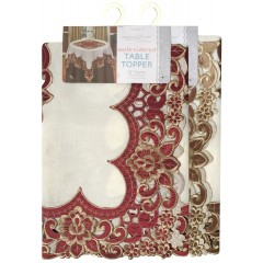 Embroidered & Cutwork Table Topper